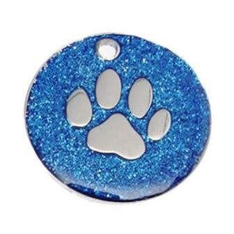 Glitter Pet Identification Tags
