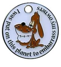 Novelty Dog Tags Engraved