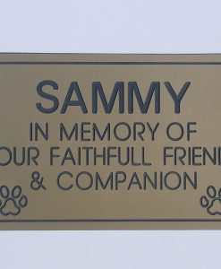 Pet Memorials Plaque Online