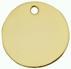Gold & Nickle Disc Tags