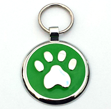 Designer Pet Tags for Large Pets