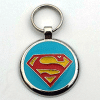 Designer Pet Tags in Light Blue Color