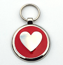 Heart Pet Tag UK