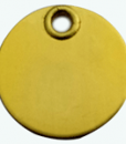 Super Strong Brass Disc Classic Tags