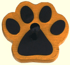 Gold Paw Print Pet Products Online