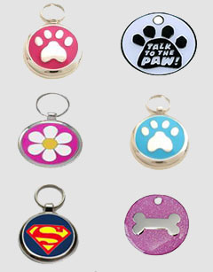 Designer Pet Tags